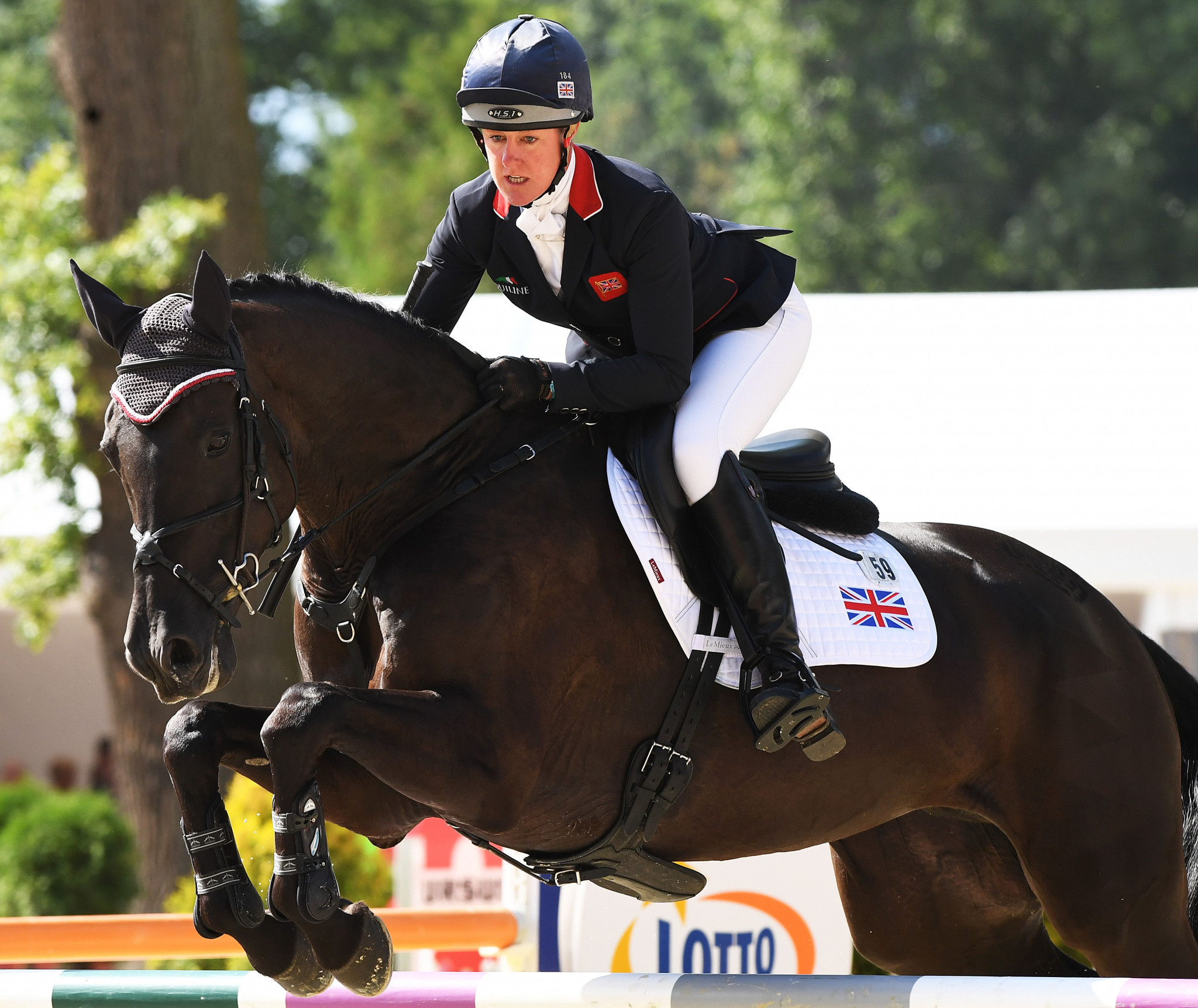 Nicola Wilson has won gold at the 2009 and 2017 Eventing European Championships ©Getty Images