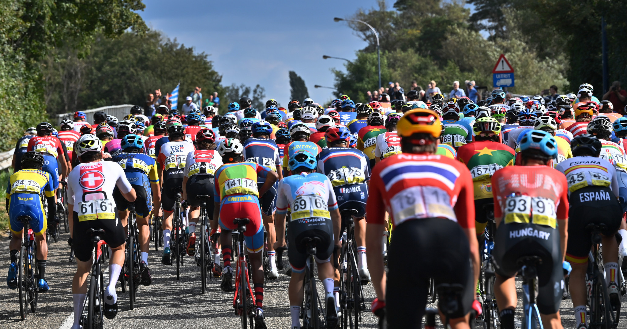The UCI Road World Championships has predominantly been held in Europe ©Getty Images