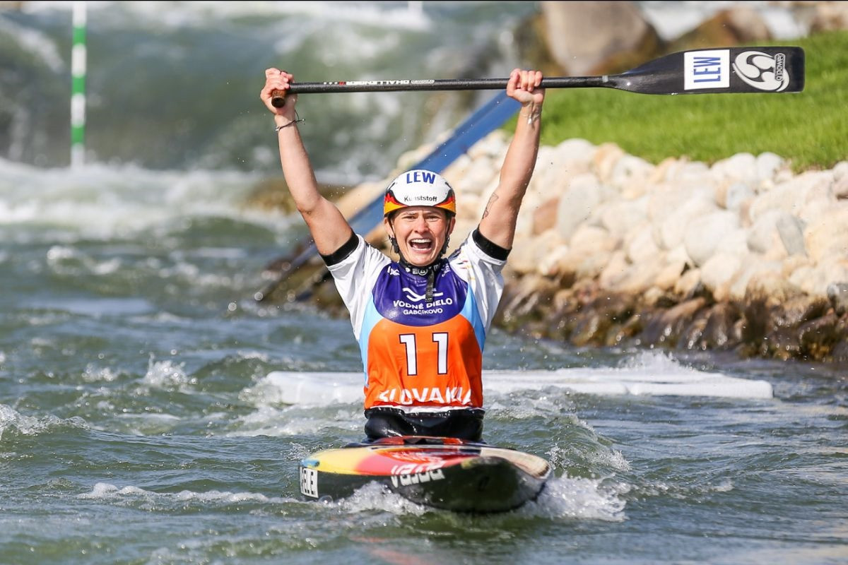 Apel and Chaloupka seize opportunities at Canoe Slalom World Championships