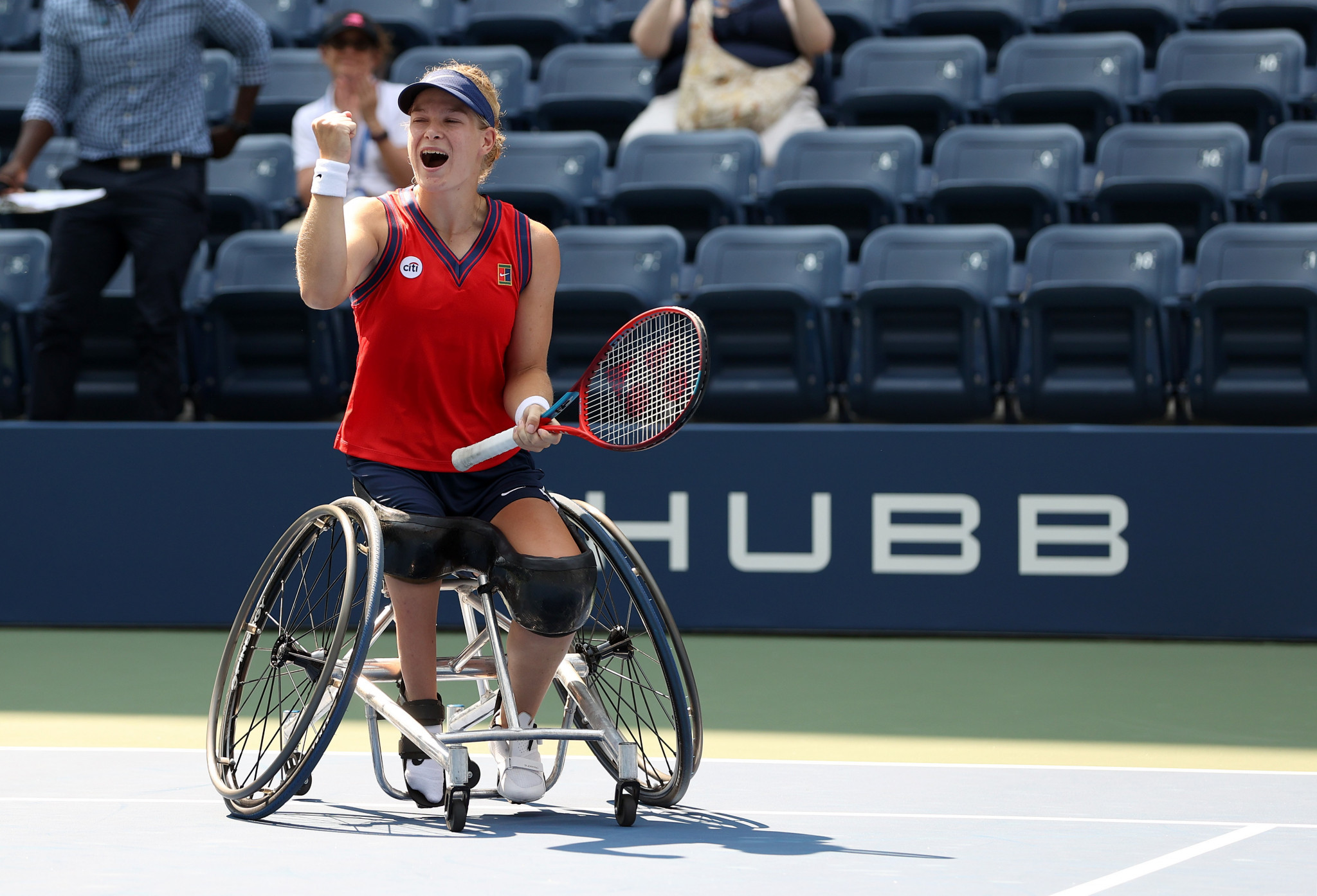 Dutch dominate on second day of Wheelchair Tennis World Team Cup