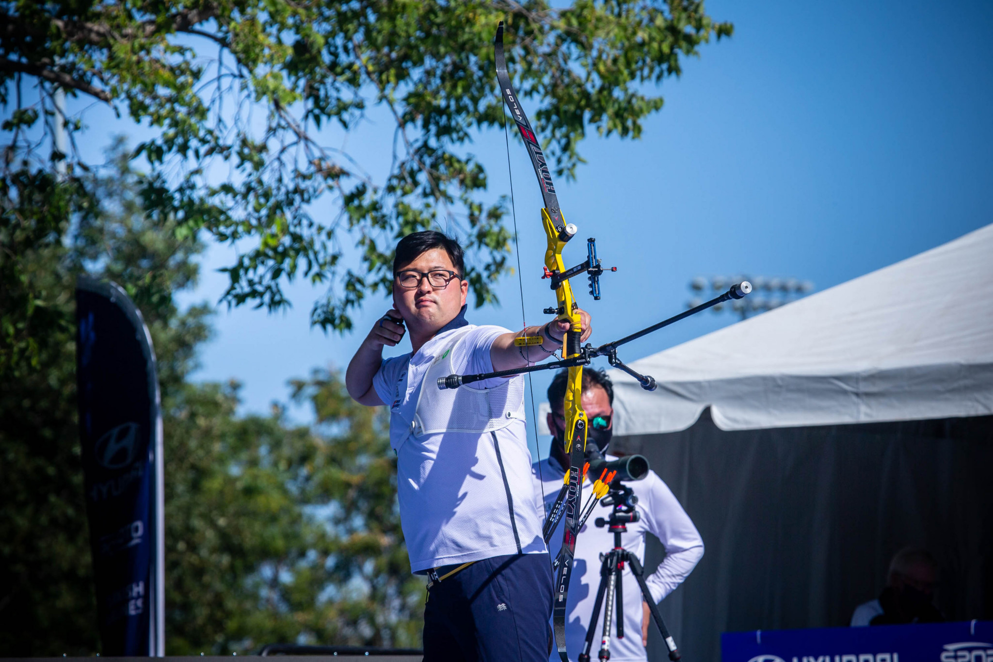 South Koreans Kim and Jang triumph in recurve finals at World Archery Championships