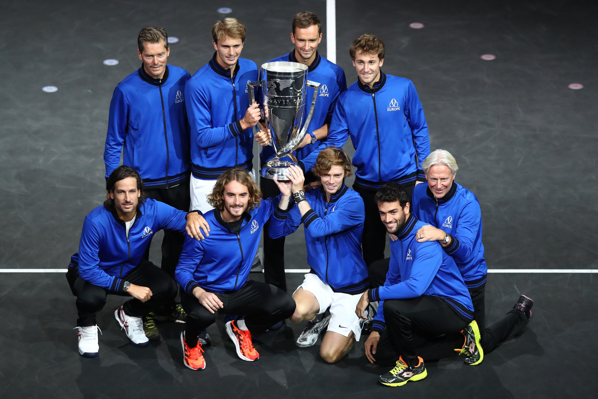 Team Europe claimed their fourth consecutive Laver Cup title ©Getty Images
