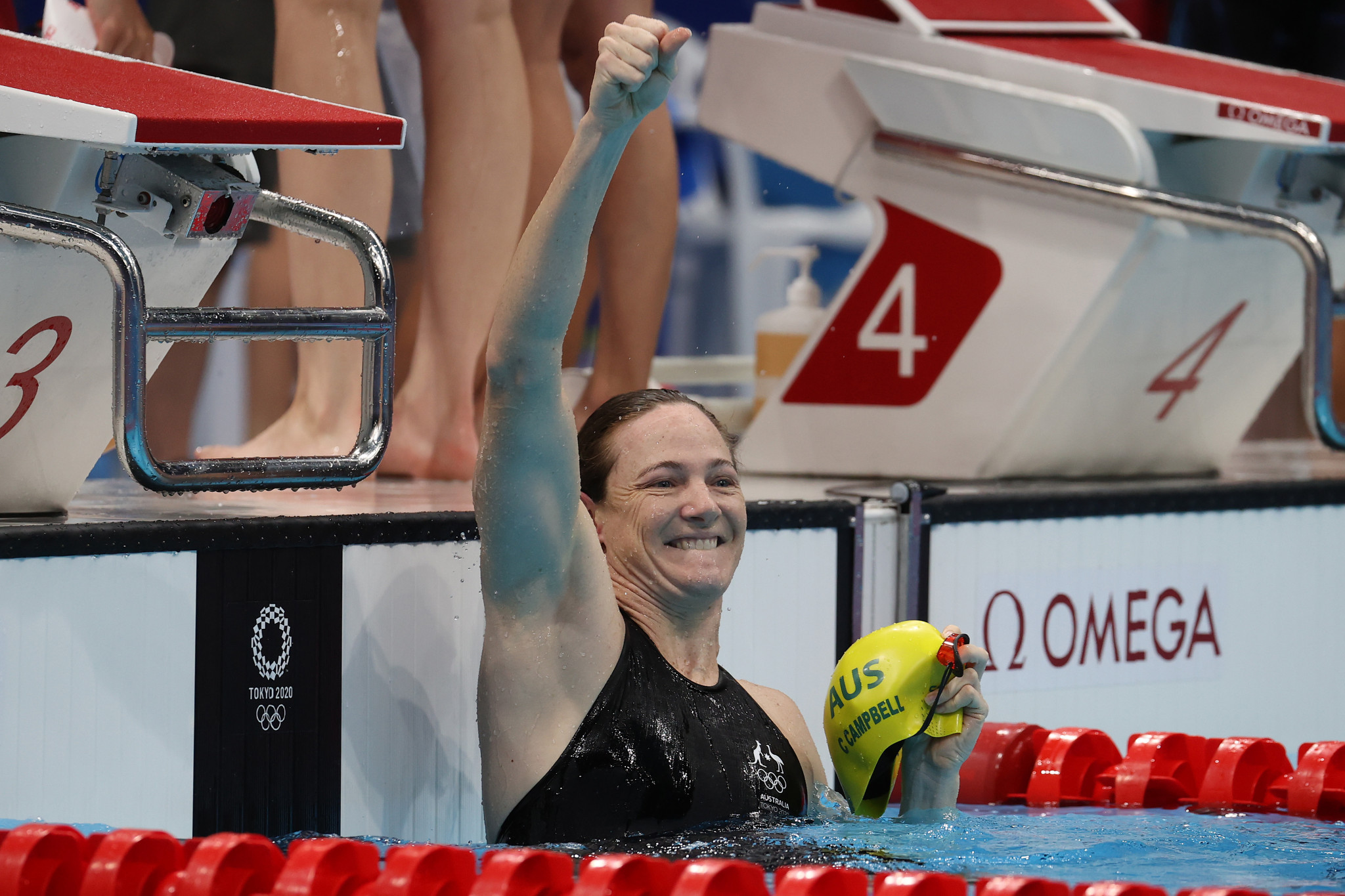 Cate Campbell is among Queensland based athletes who are set to appear at the events ©Getty Images