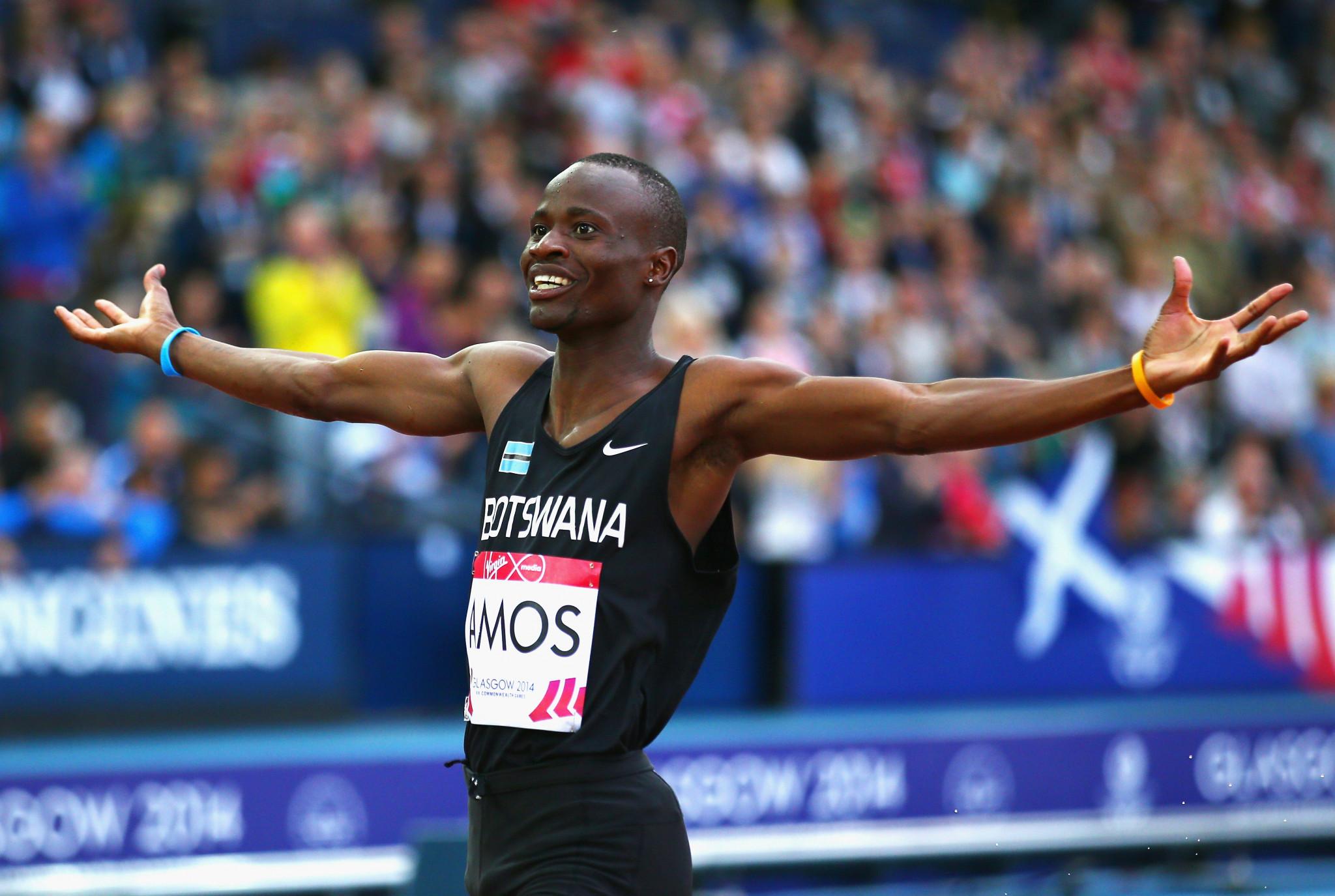 Nijel Amos won gold at the 2013 Summer Universiade in Kazan ©Getty Images
