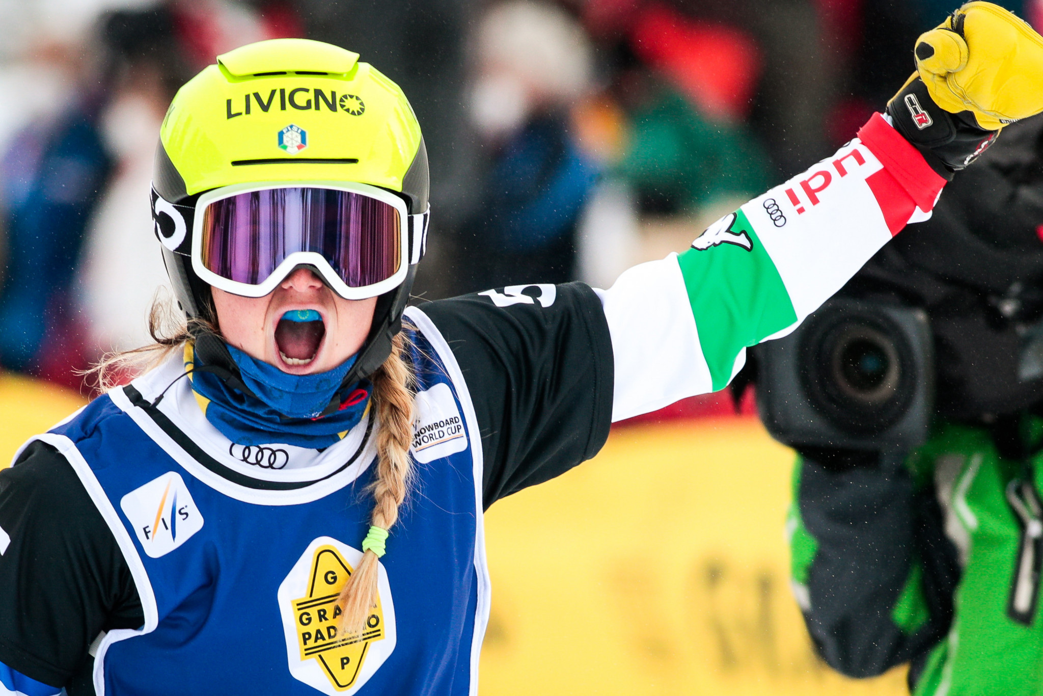 Michela Moioli is the reigning Olympic women's Olympic snowboard cross champion ©Getty Images