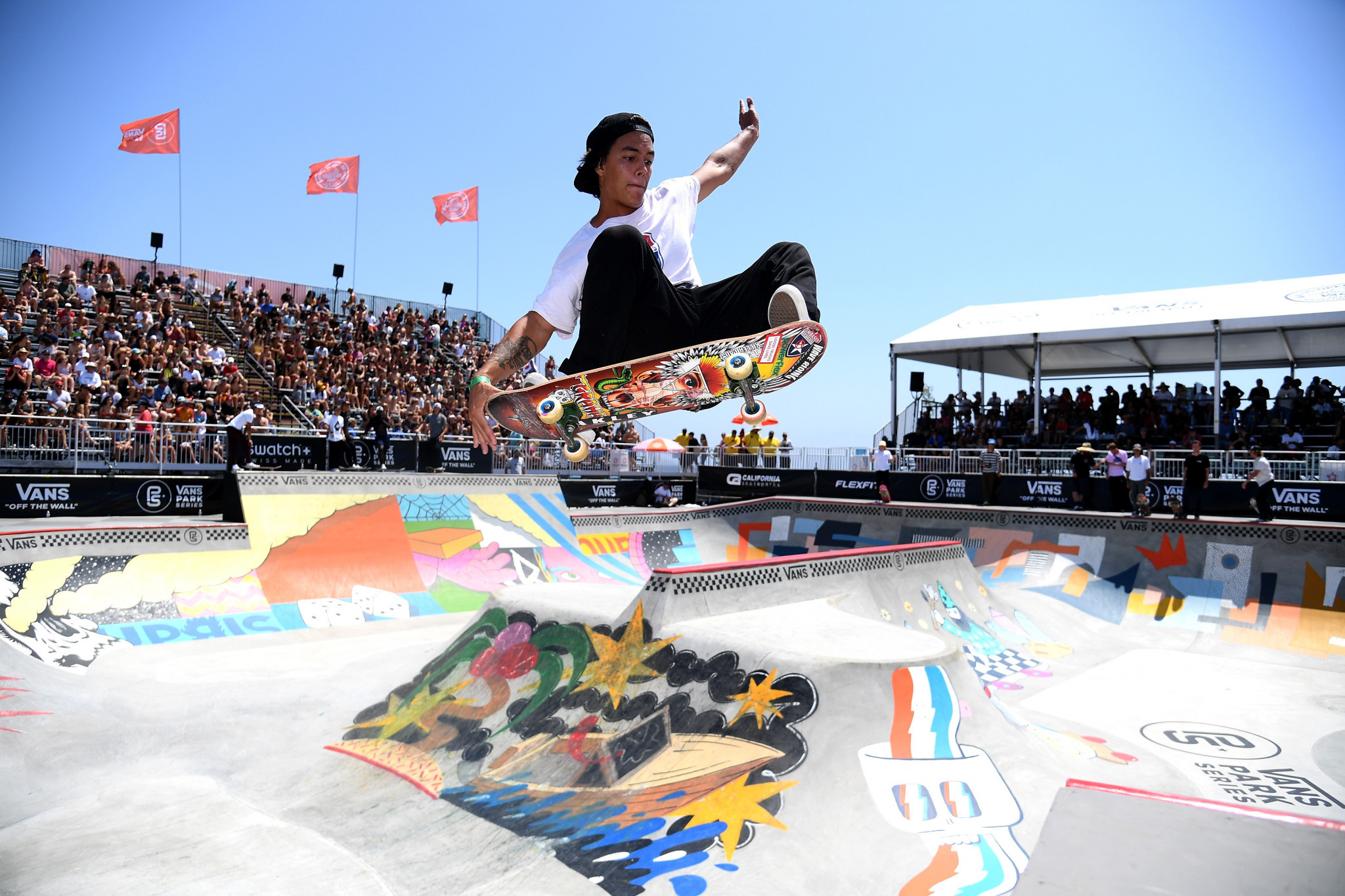 Huntington Beach has previously hosted multiple BMX and skateboarding competitions ©Getty Images