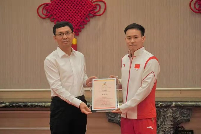Olympic diving champion Xie named Shantou 2021 Asian Youth Games ambassador