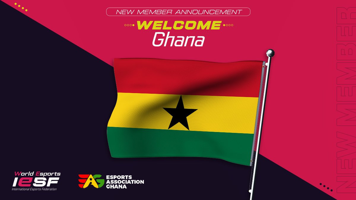Ghana the latest nation to join International Esports Federation as member