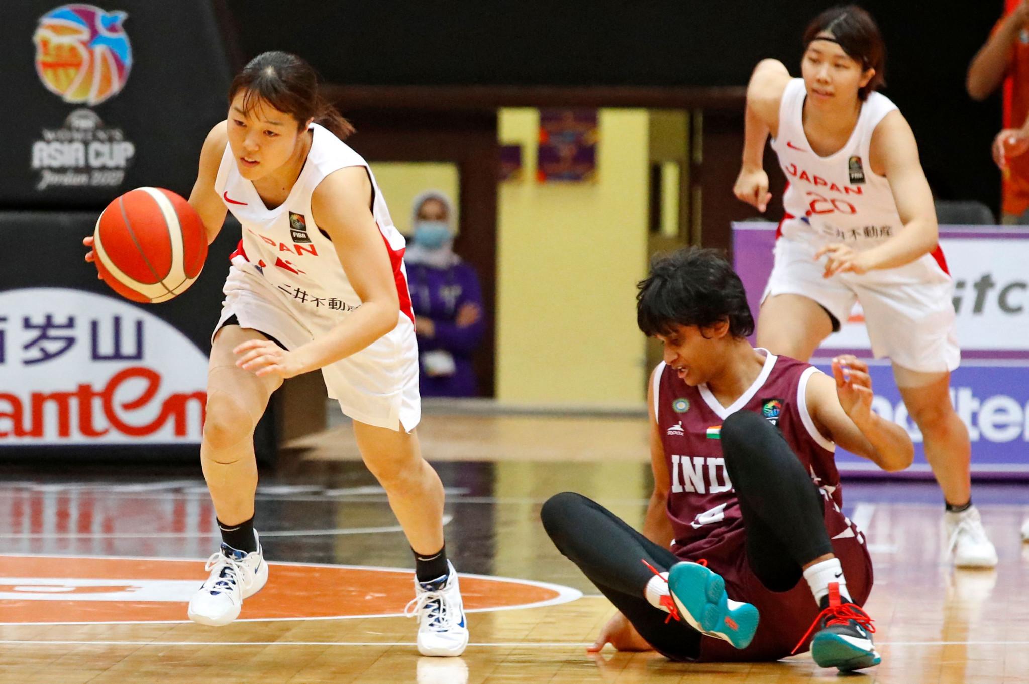 Defending champions Japan start FIBA Women's Asia Cup with win