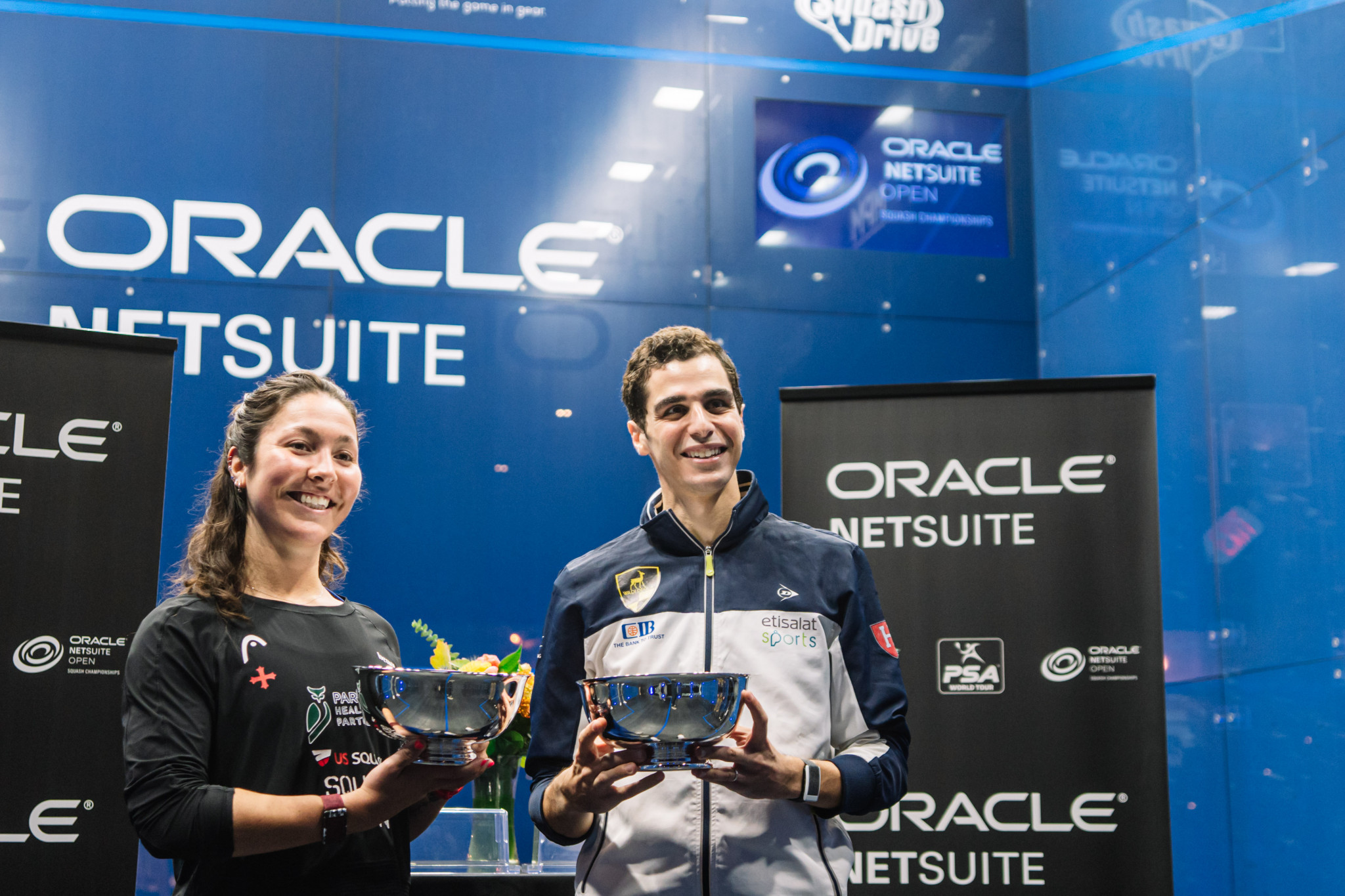 Farag continues fine form to win Oracle Netsuite Open, while Sobhy claims home victory