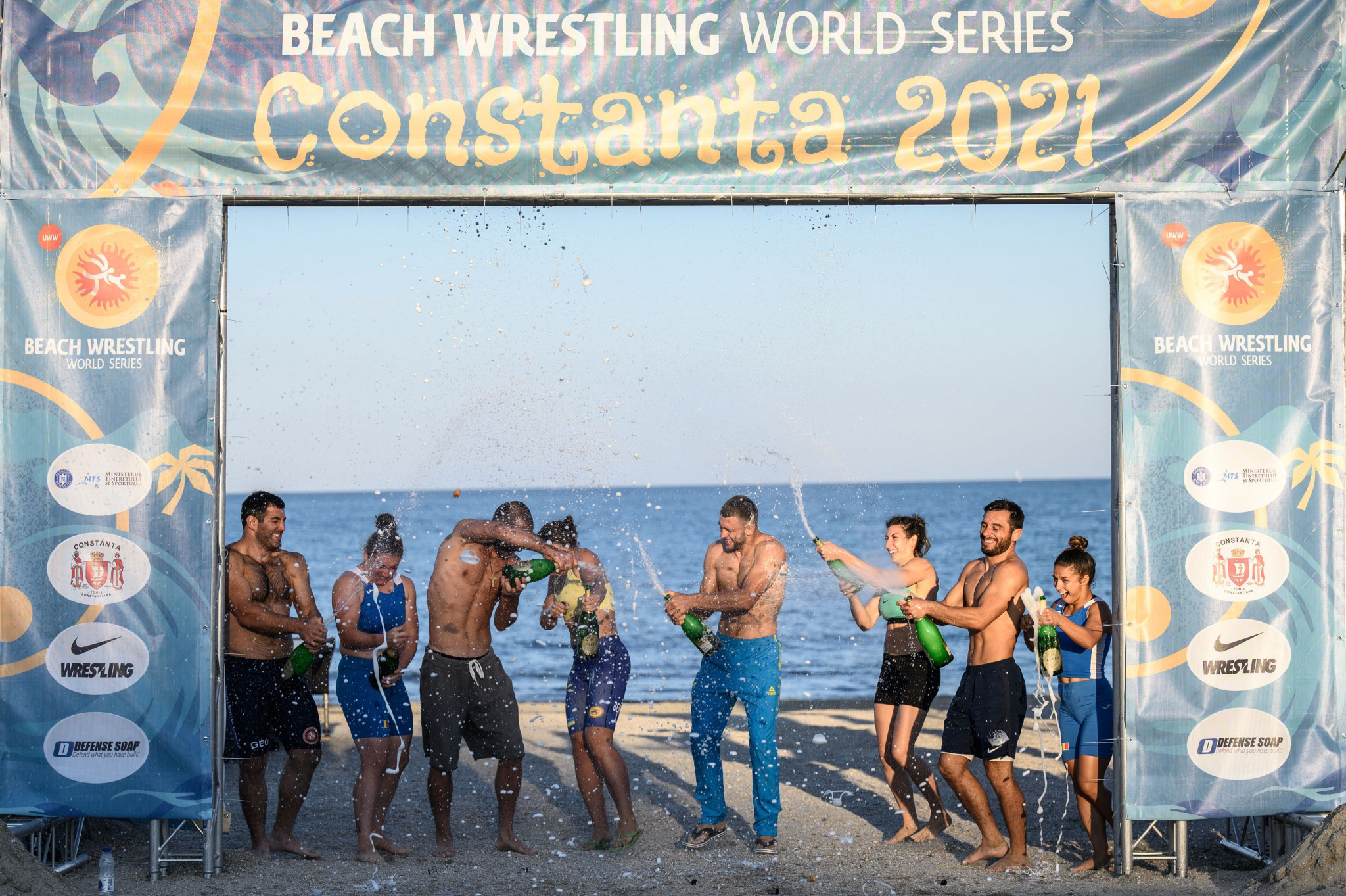 Georgians secure three overall golds as Beach Wrestling World Series concludes in Constanța