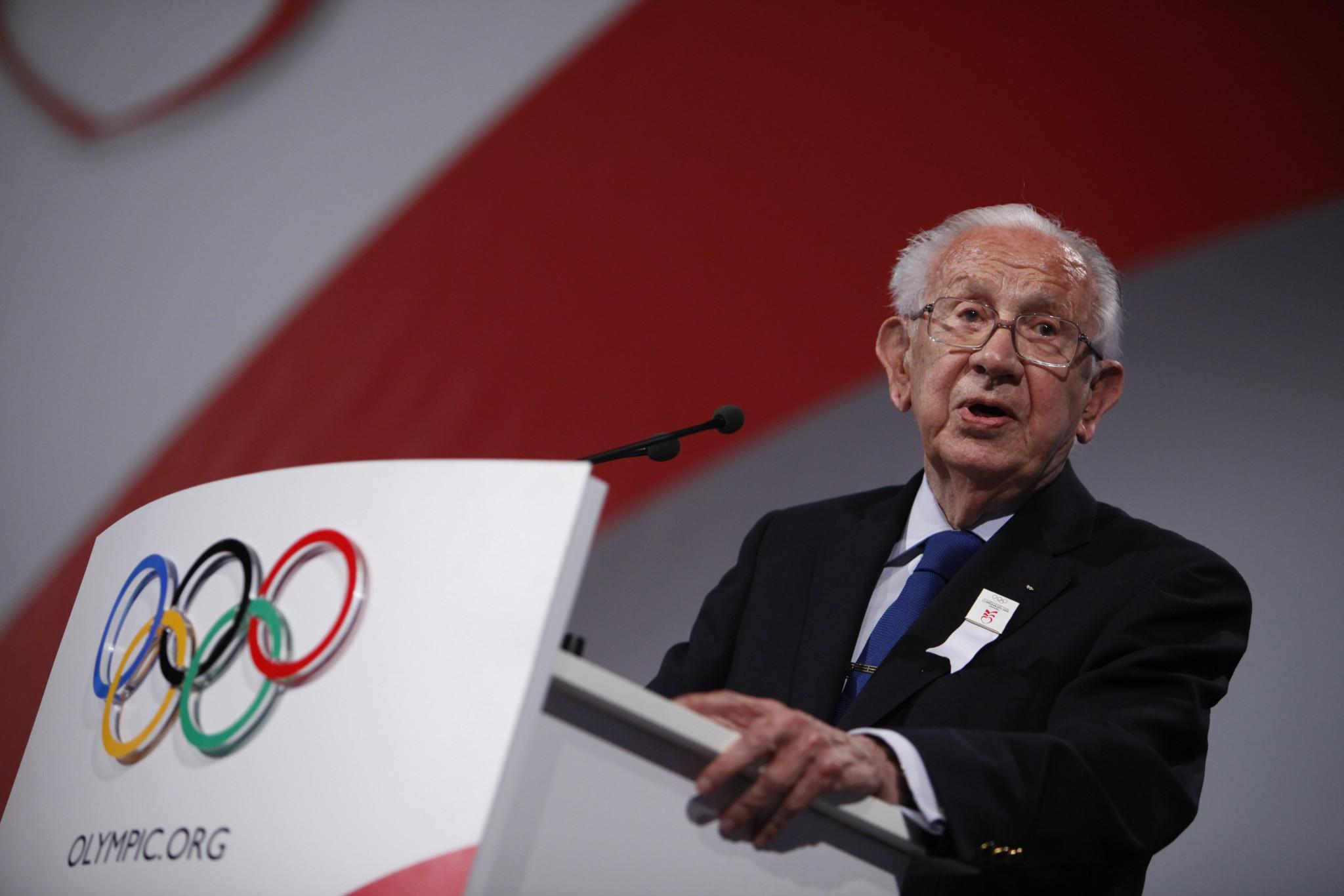 Former IOC President Juan Antonio Samaranch seized power at the historic Baden-Baden IOC Congress in 1981 ©Getty Images