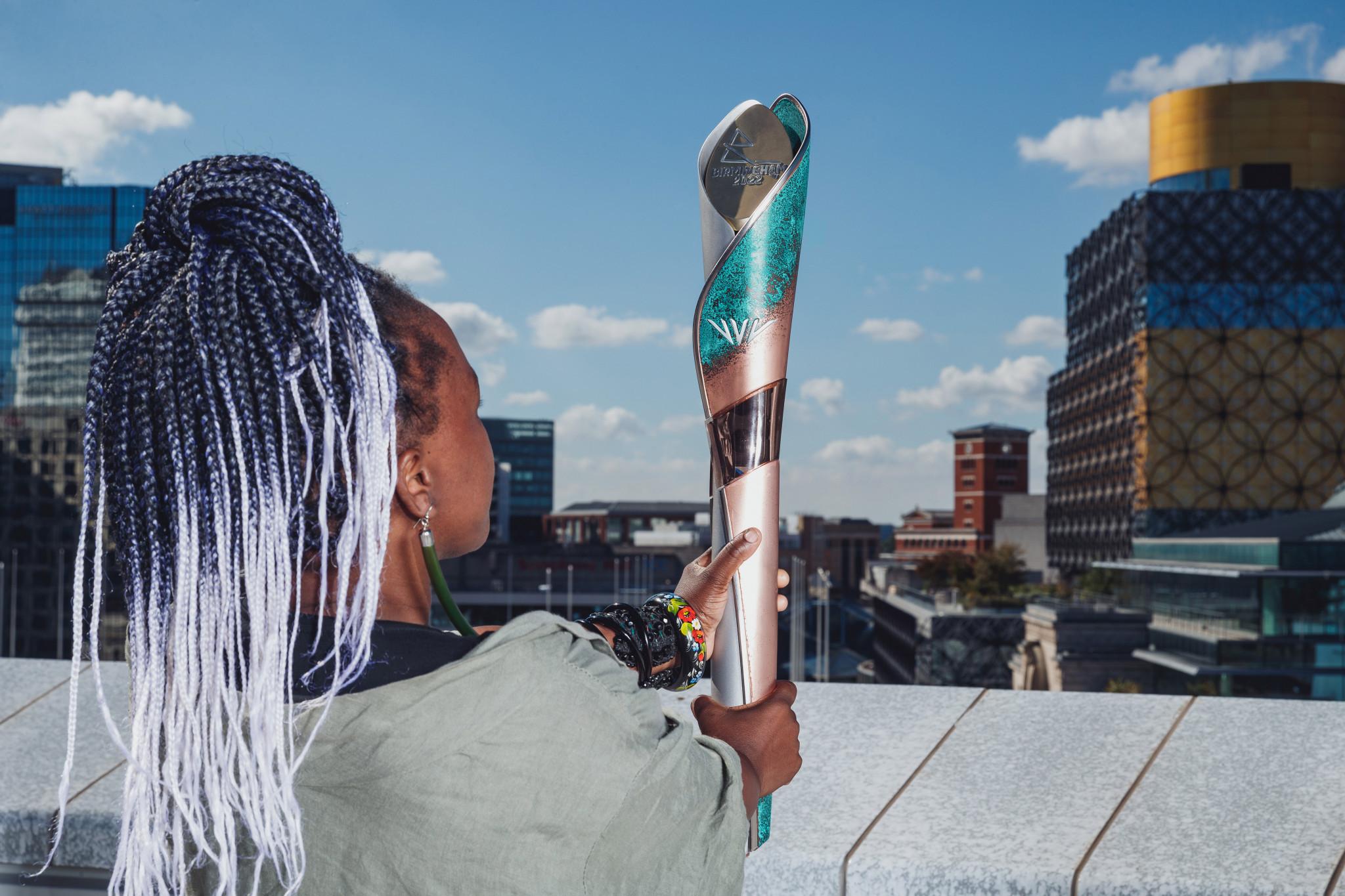 Laura Nyahuye designed the Birmingham 2022 Baton ©Birmingham 2022