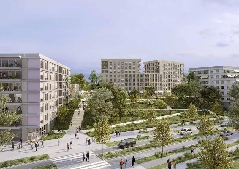 Construction of the Paris 2024 media facilities has previously experienced delays ©Solideo