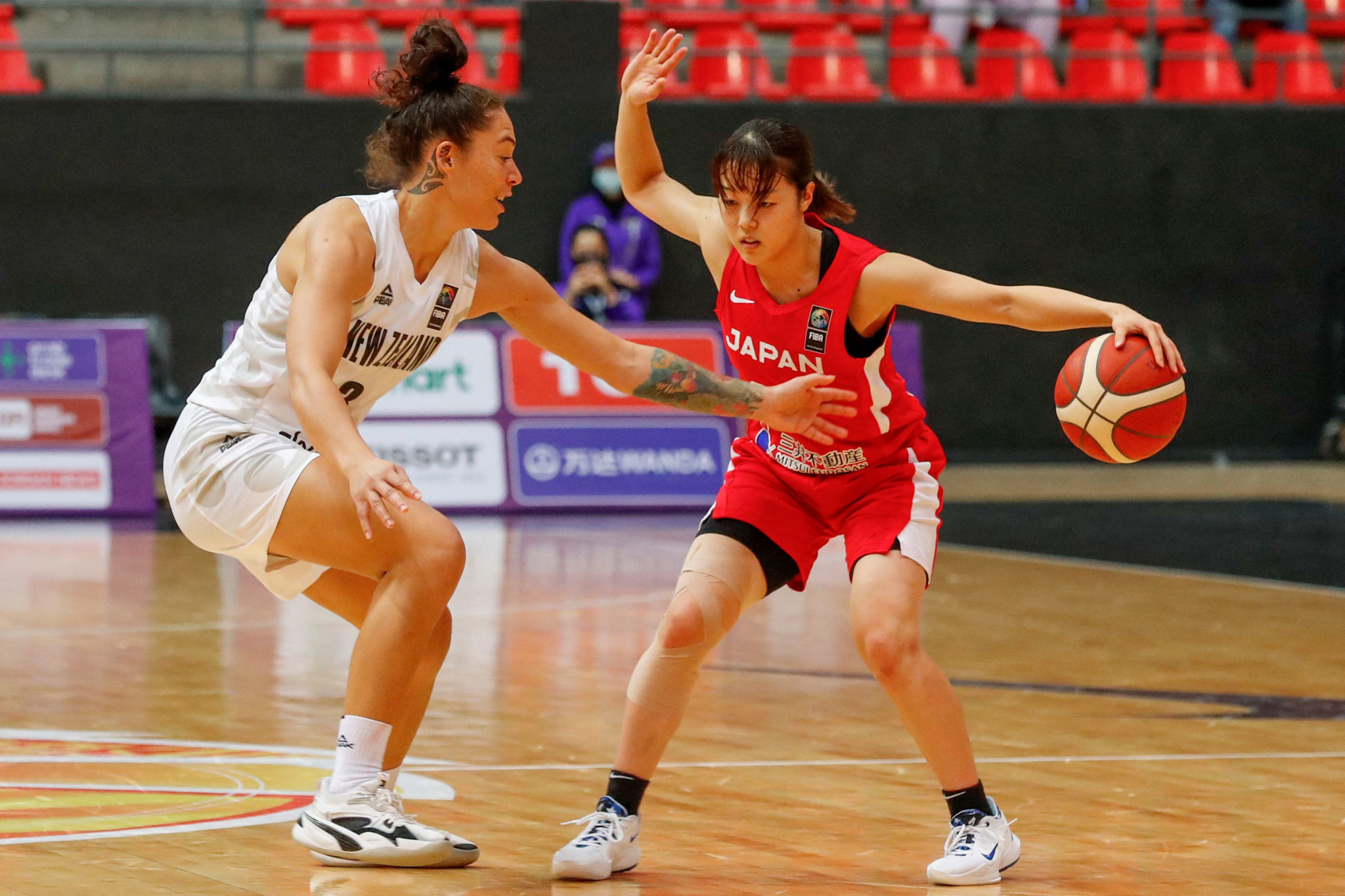 Japan overcome New Zealand scare to stay top of their group at FIBA Women's Asia Cup