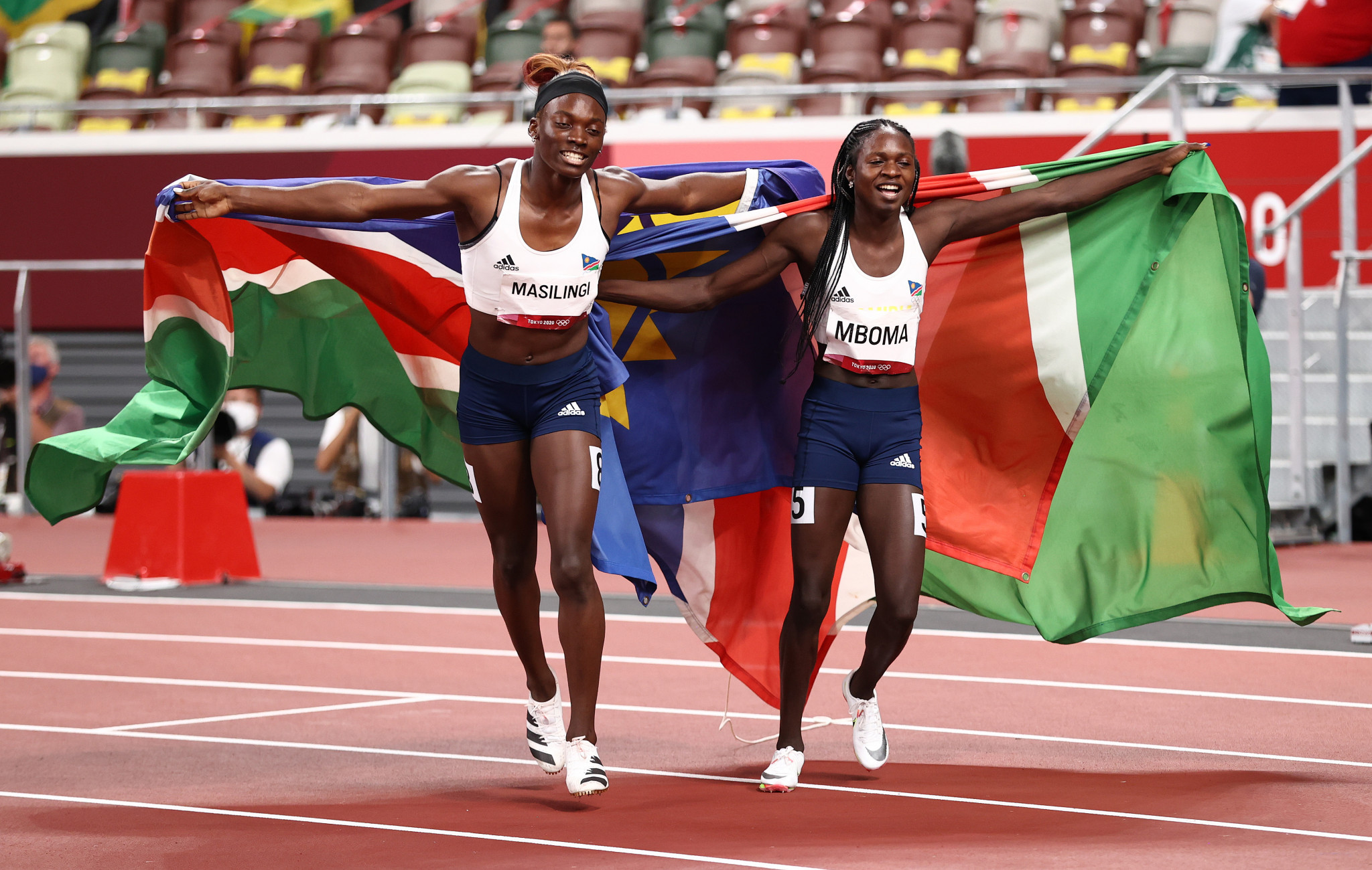 """Tokyo 2020 silver medallist Mboma admits 400m Olympic ban was """"a very bad experience"""""""