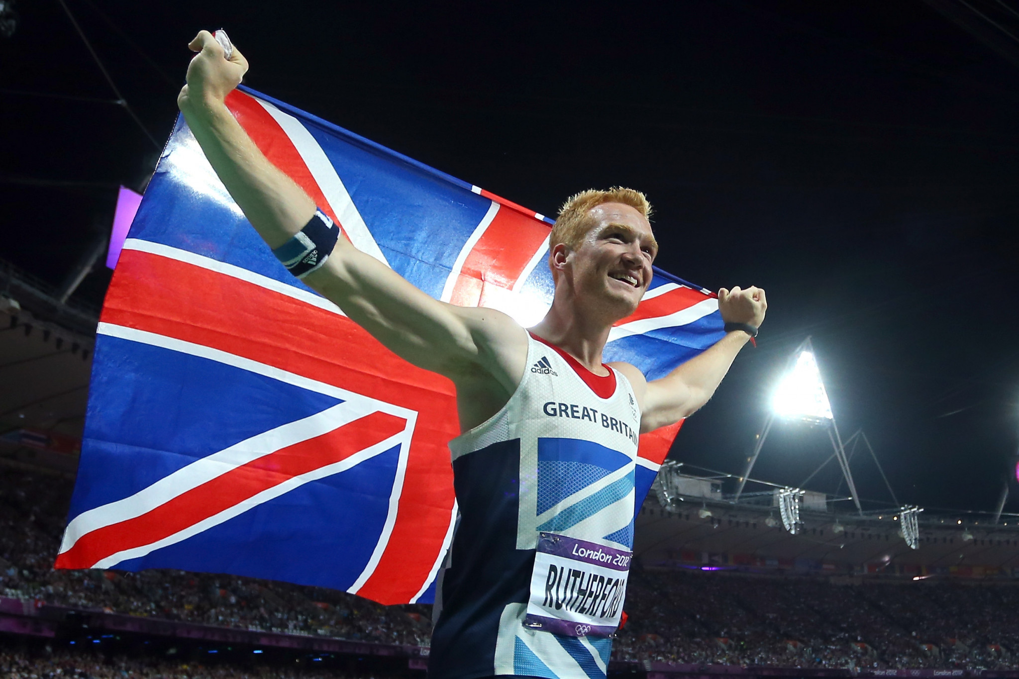 Olympic long jump champion Rutherford makes British bobsleigh squad