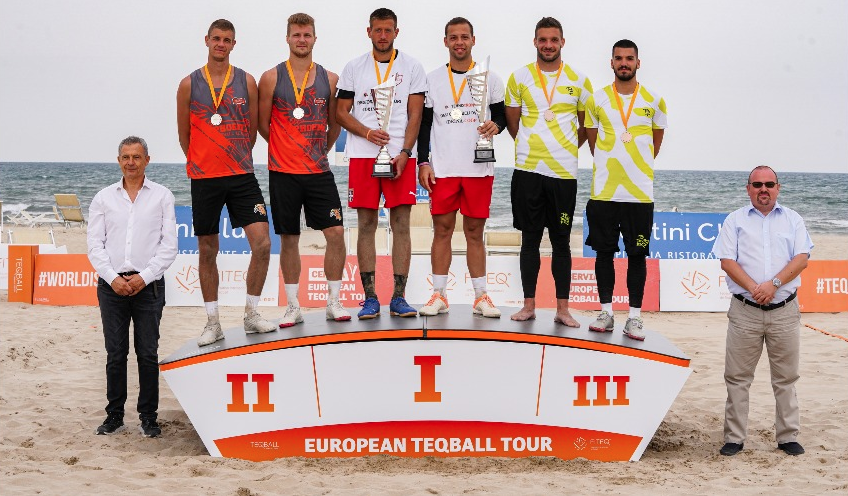 Bányik among winners at maiden European Teqball Tour leg