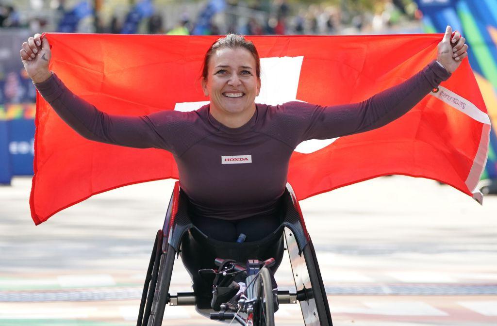 Berlin Marathon wheelchair winner Schär seeking further glory in London