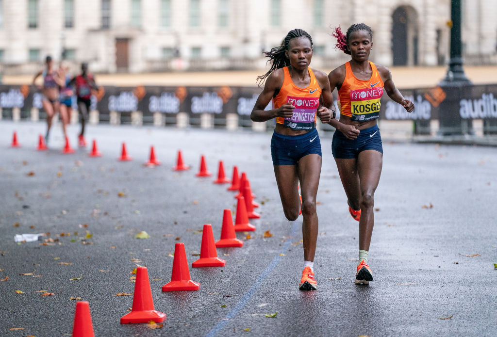 Clear-headed Kosgei seeking London Marathon hat-trick