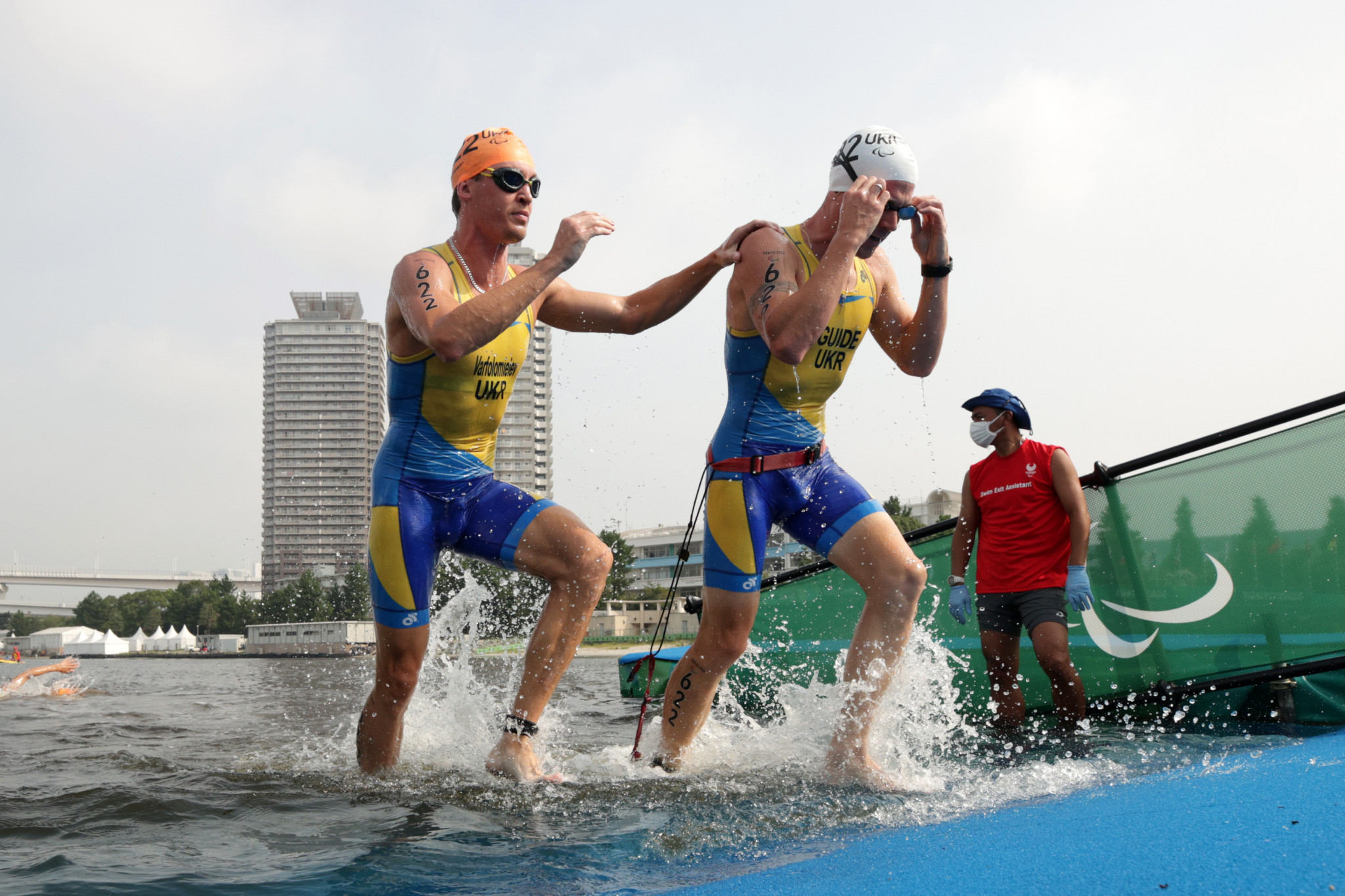 Paralympians Varfolomieiev and Oleksiuk included in line-up for penultimate World Triathlon Para Cup event of the season in Alanya