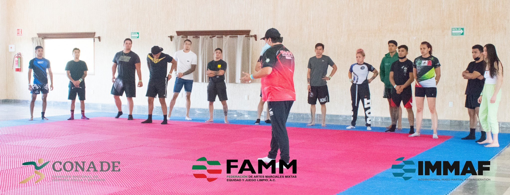 Mexican Mixed Martial Arts Federation holds gathering of athletes and coaches in build-up to IMMAF World Championships