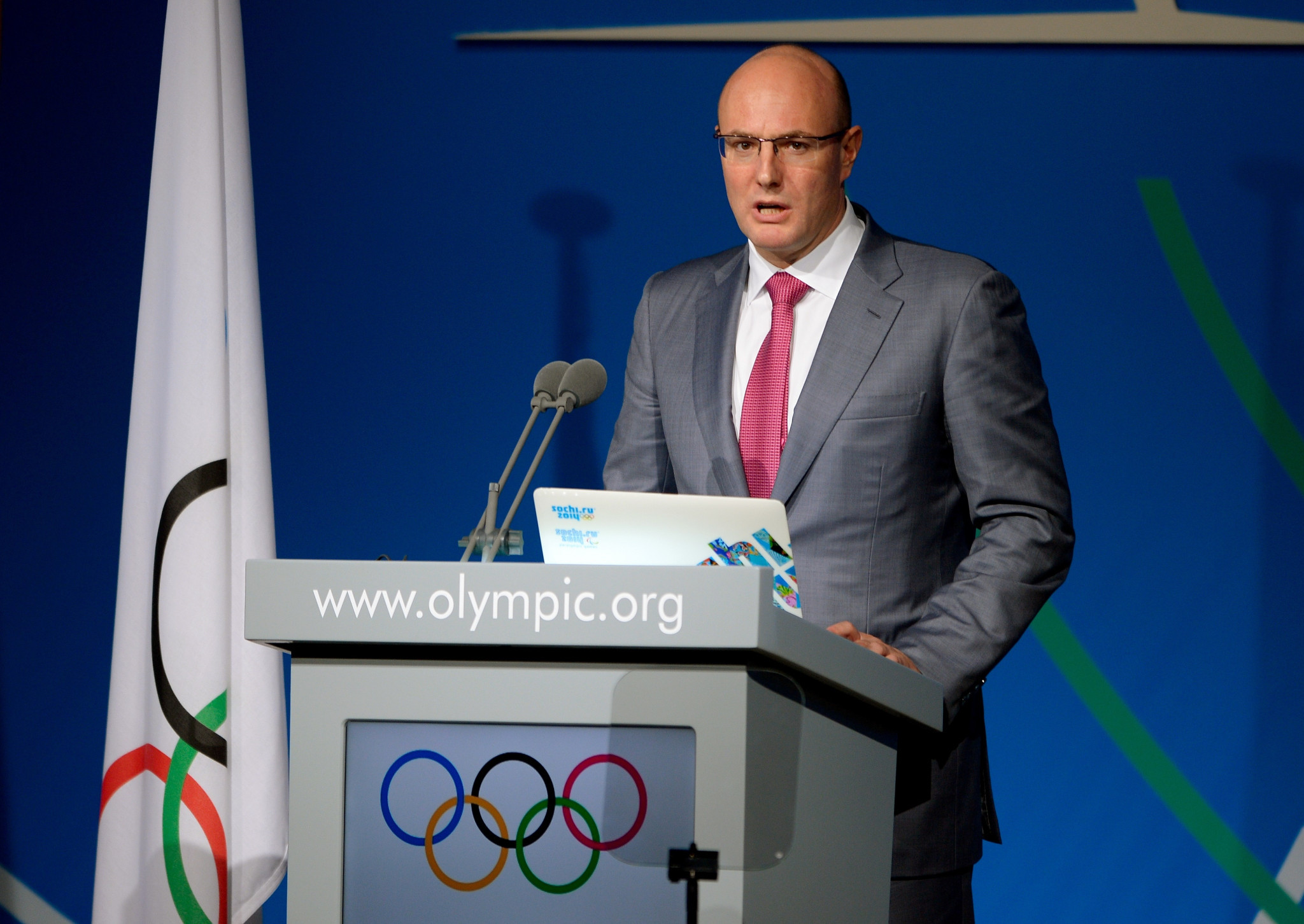 Russian Deputy Prime Minister meets FIVB President to discuss 2022 Men's Volleyball World Championship
