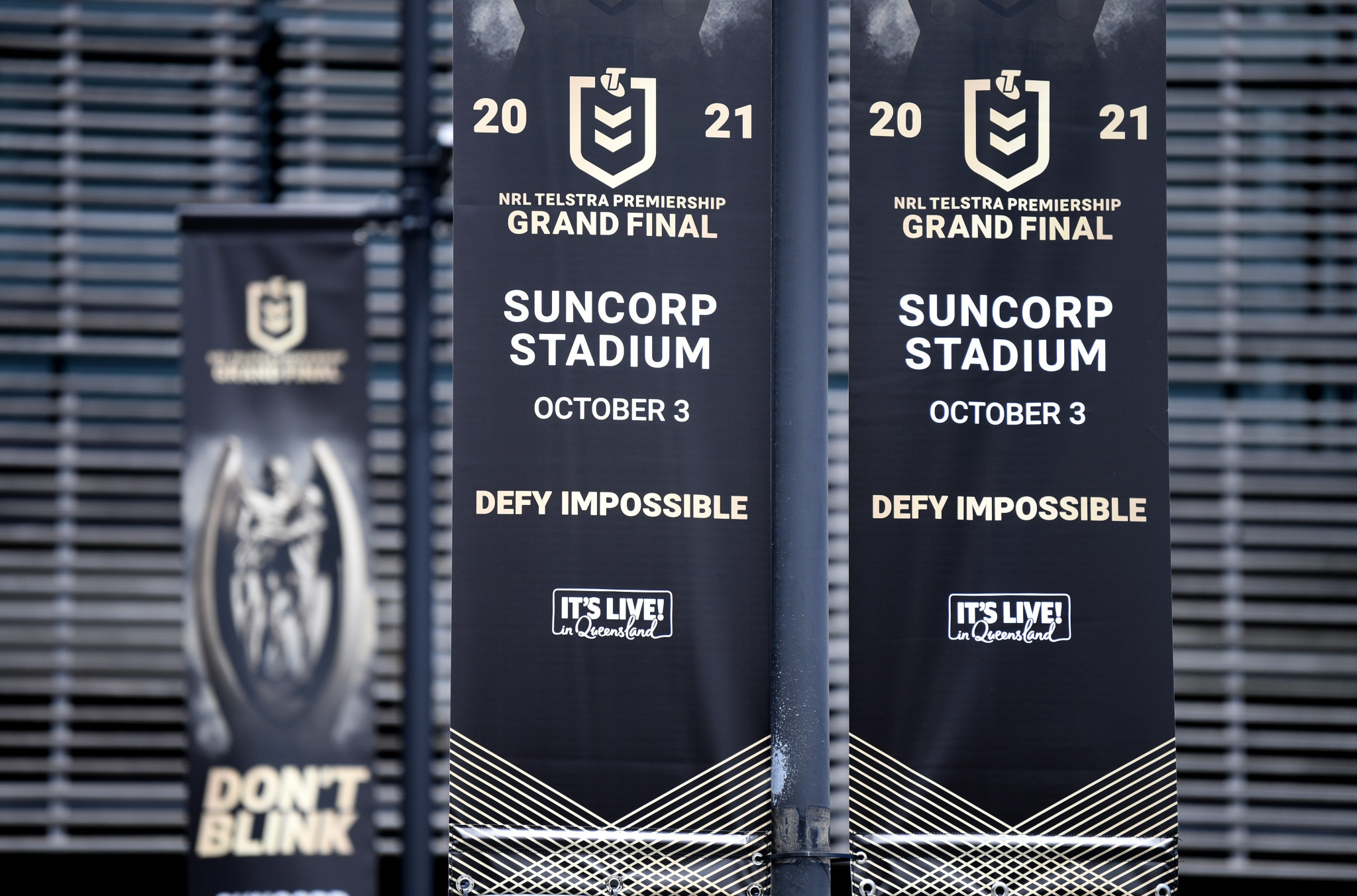 Sunday's NRL Grand Final crowd reduced by 13,000 and could still be moved from Brisbane