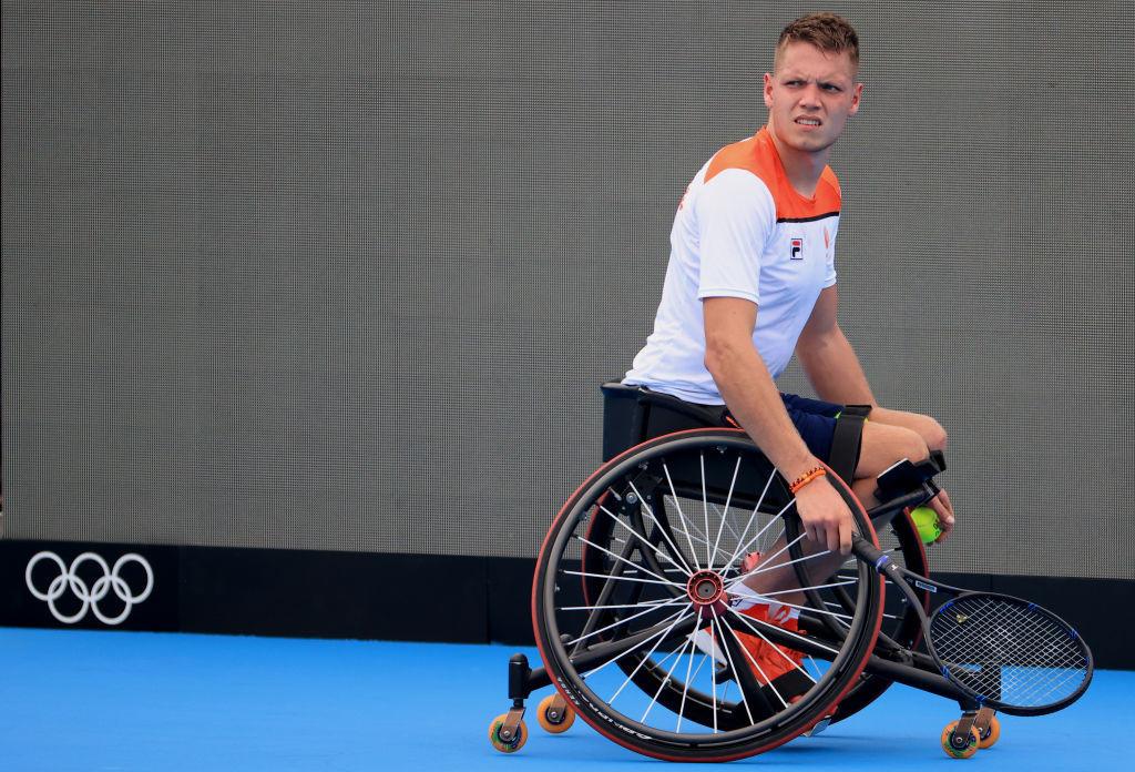 Dutch men set up sweep chance at Wheelchair Tennis World Team Cup