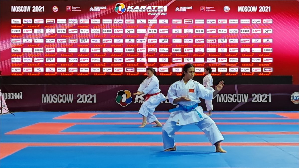 Olympic champion Sanchez stars on opening day of Karate-1 Premier League in Moscow