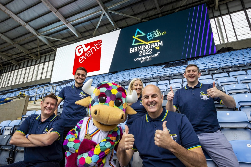 GL events UK announced as overlay supporter of Birmingham 2022