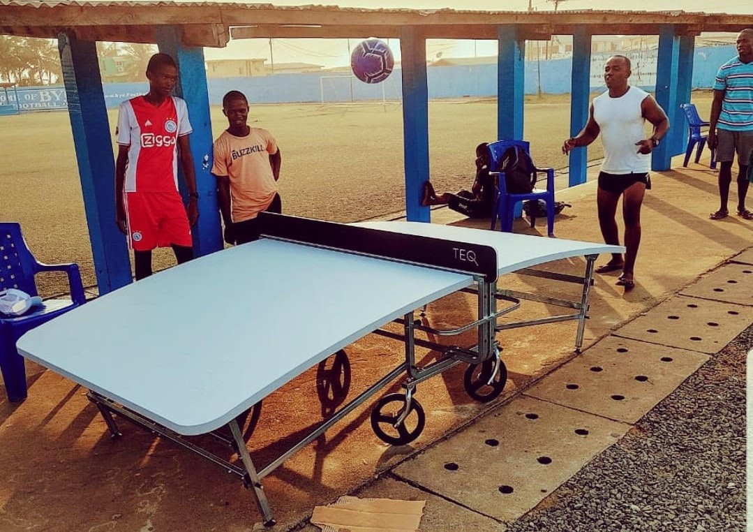 Liberia National Teqball Federation hosts country's first technical workshop