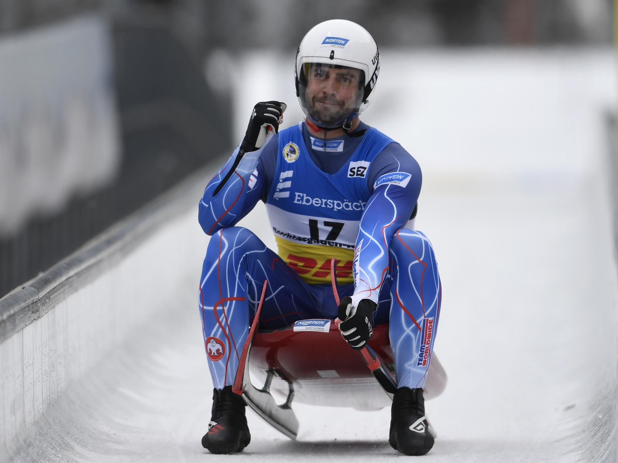 """Olympic luge medallist Mazdzer breaks foot in """"few places"""" in training run"""