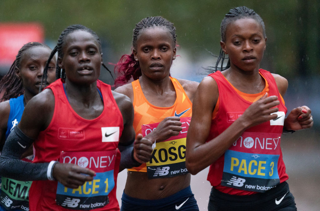 """Legese and Kosgei well set to win """"most competitive"""" London Marathon"""