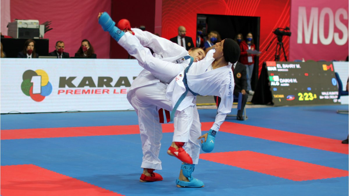 Olympic champion Abdelaziz reaches final at Karate-1 Premier League in Moscow