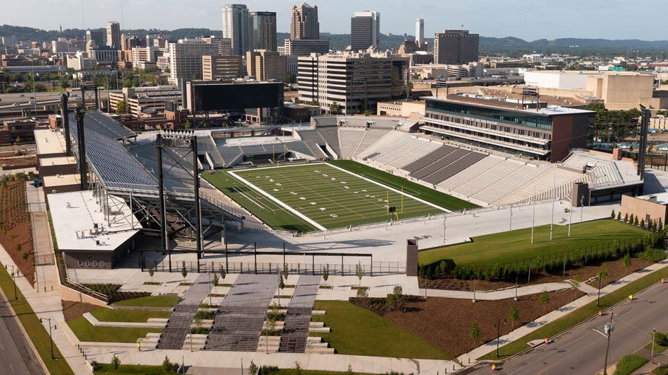 Showpiece Birmingham 2022 venue Protective Stadium has grand opening