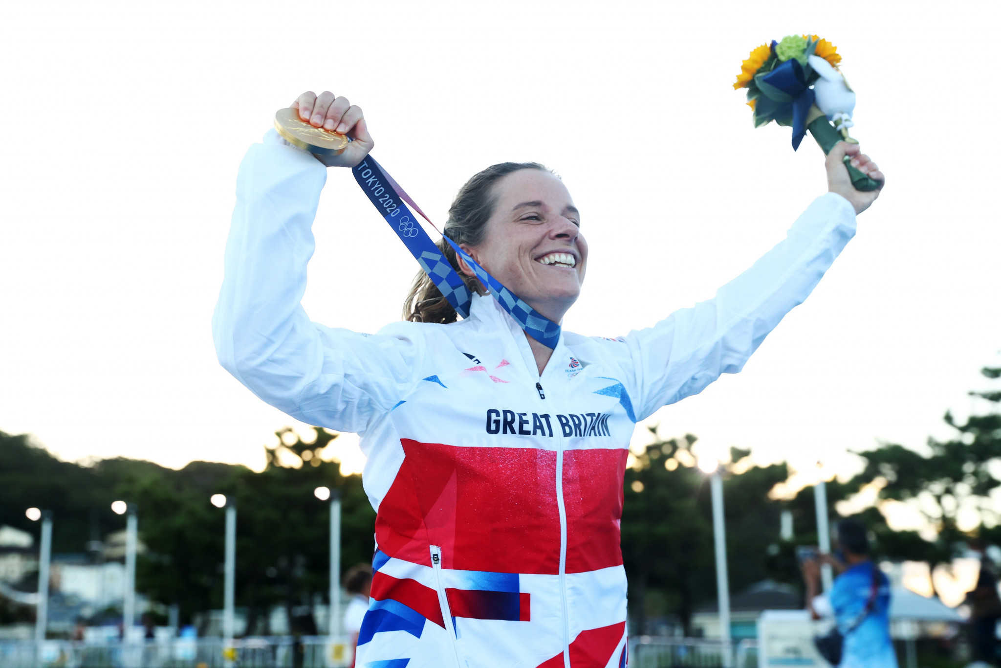 Double Olympic champion Hannah Mills described the introduction of a women's event at the America's Cup as