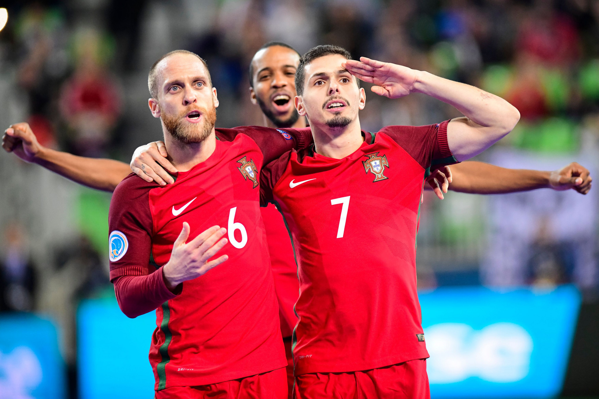 Portugal claimed its first FIFA Futsal World Cup title in Lithuania today ©Getty Images
