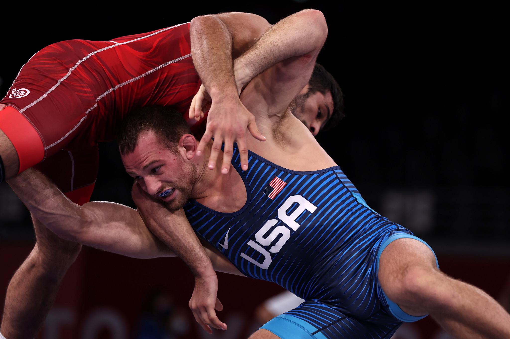 Yazdanicharati wins Olympic final rematch at Wrestling World Championships