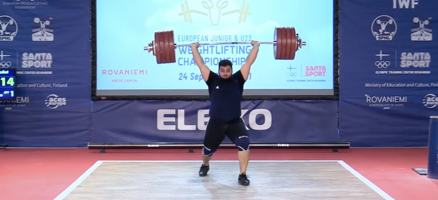 Record-breaking weightlifting finale in Finland by Armenian super-heavyweight Lalayan