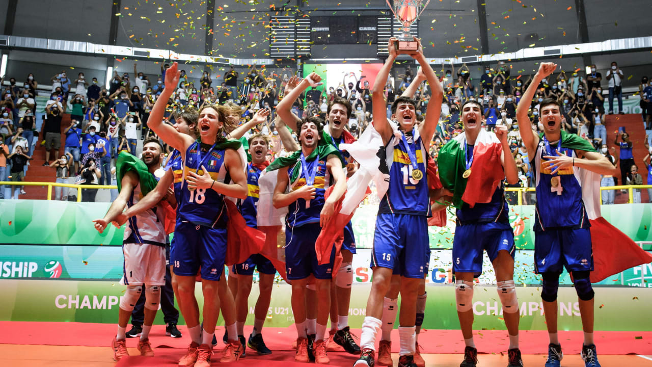 Italy claim first FIVB Volleyball Under-21 Men's World Championship title
