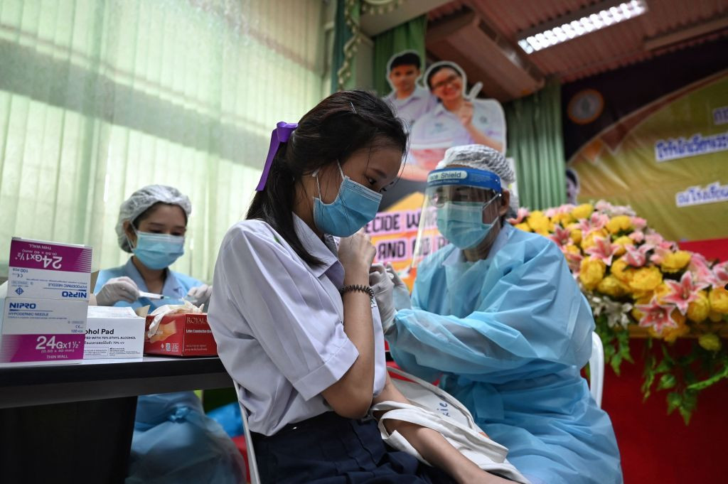 Less than a third of Thailand's population are vaccinated against COVID-19 ©Getty Images