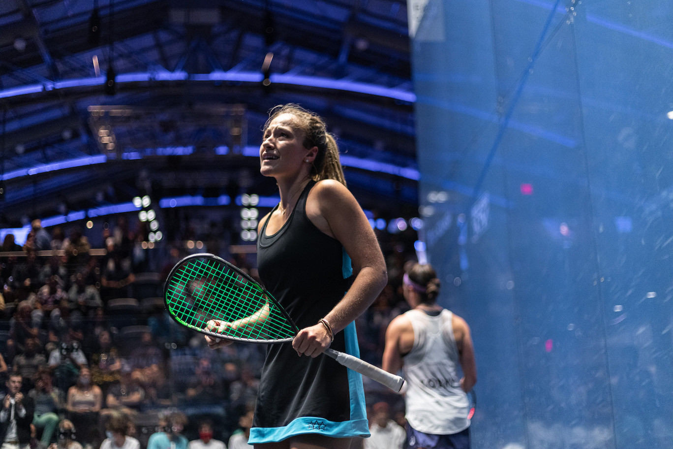 Fiechter stuns Sobhy at US Open squash while Willstrop's run continues