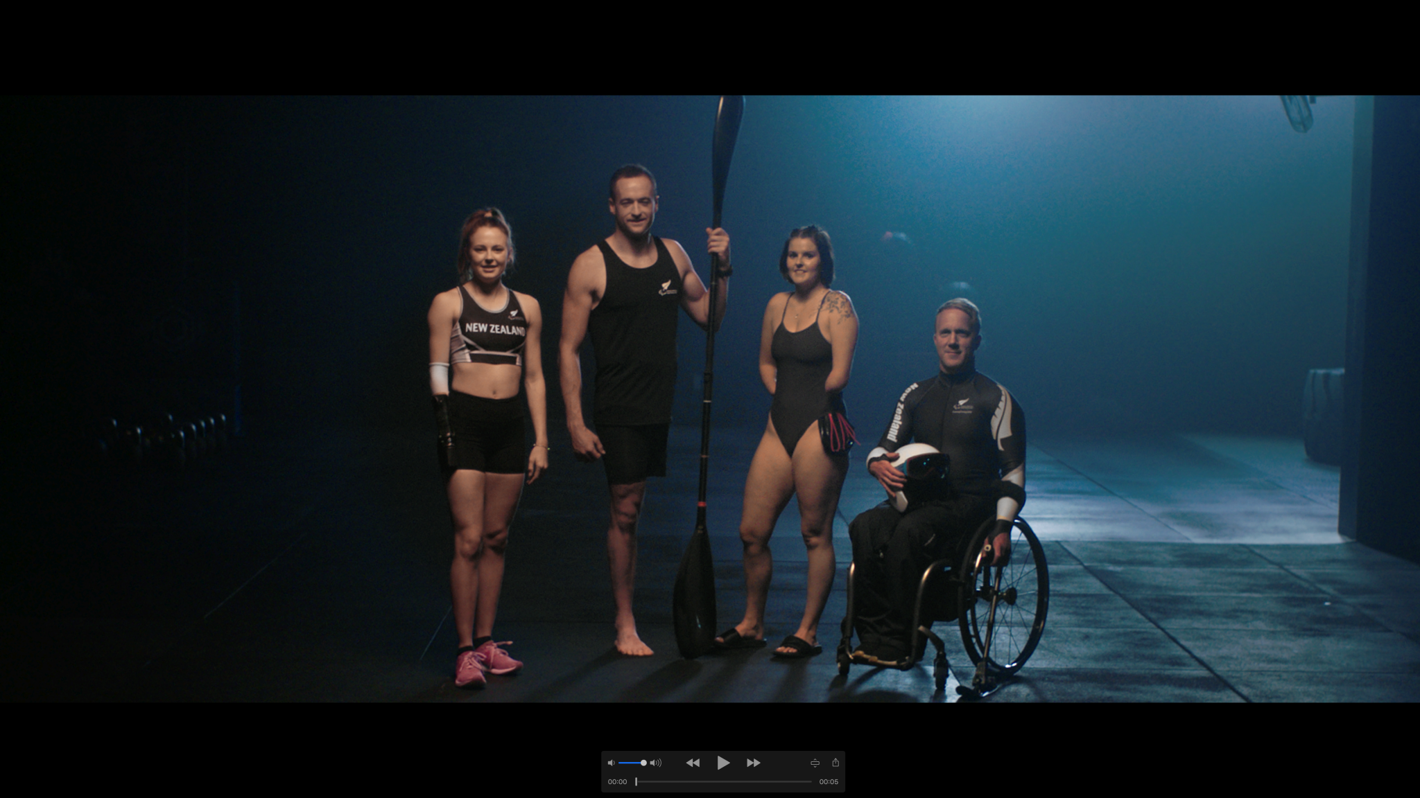 Paralympics New Zealand look to sell filmed advert to companies