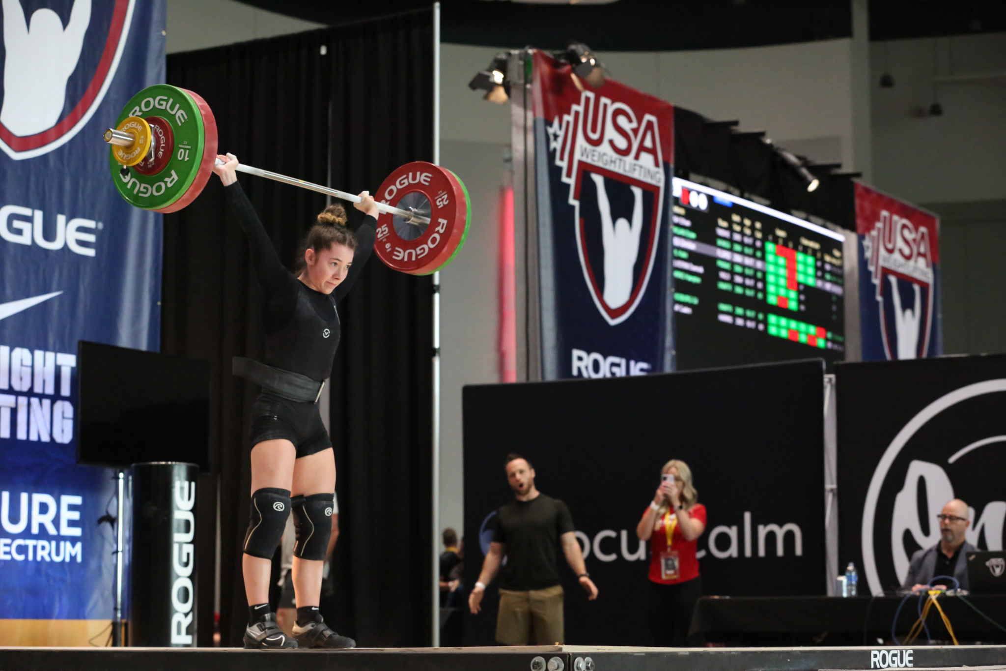 Katie Estep is part of the United States team for the IWF Youth World Championships, which at 20 is the largest of any participating nation ©USA Weightlifting