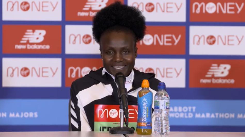 London Marathon champion Jepkosgei says she can go faster