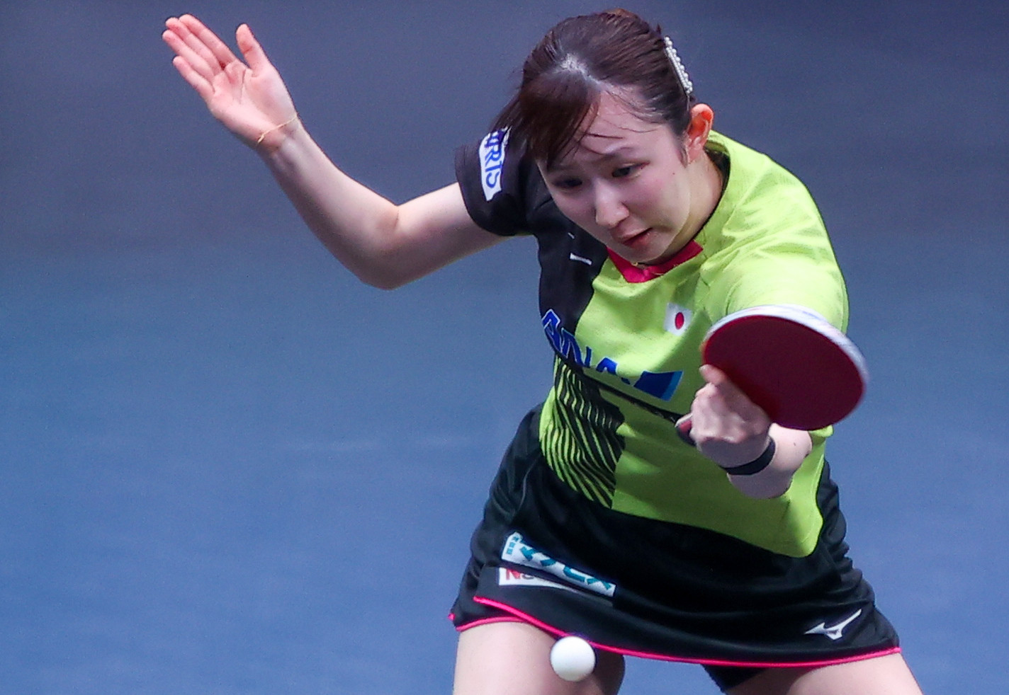 Hayata claims women's singles title at Asian Table Tennis Championships