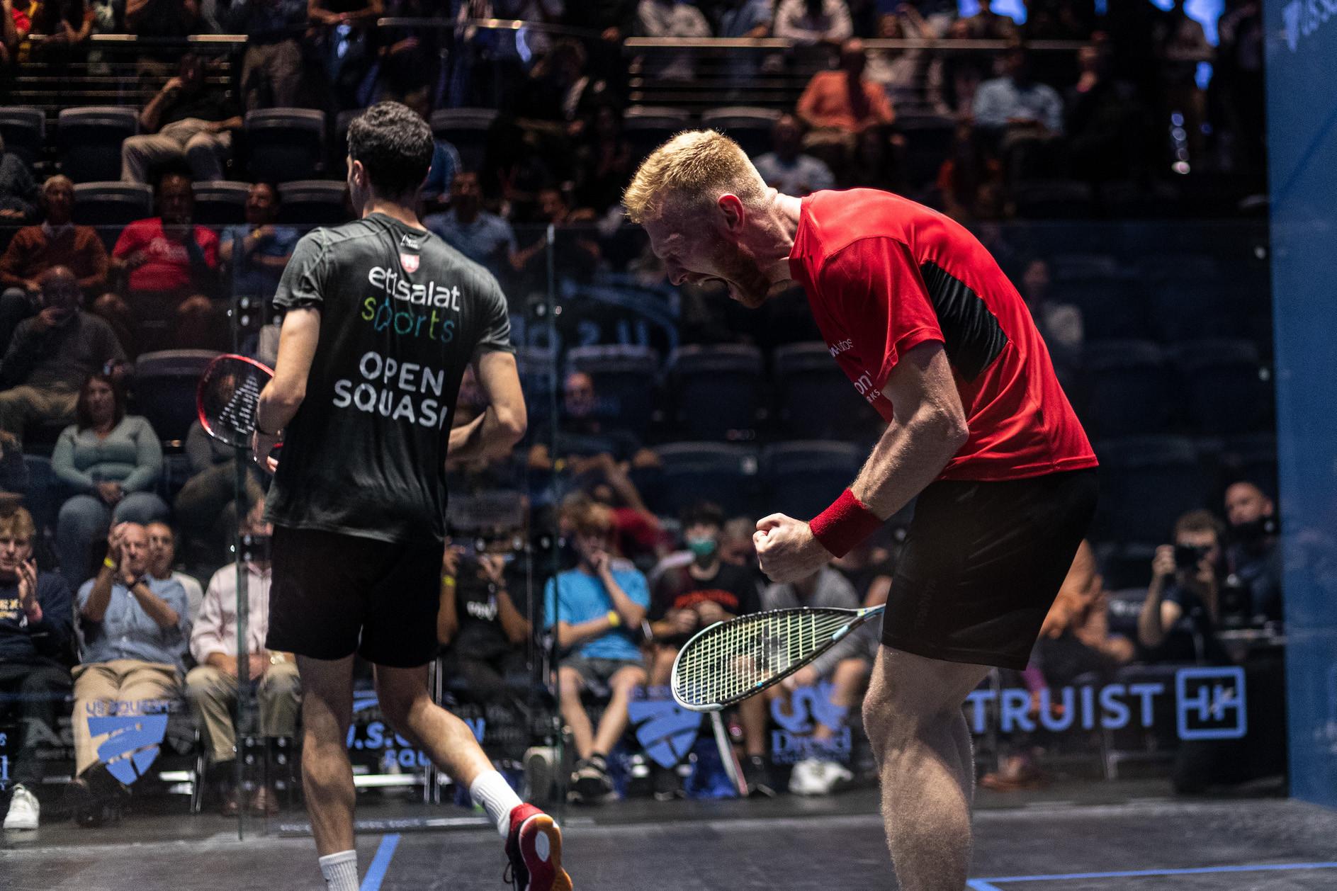 Men's top three seeds all crash out at quarter-finals of squash's US Open