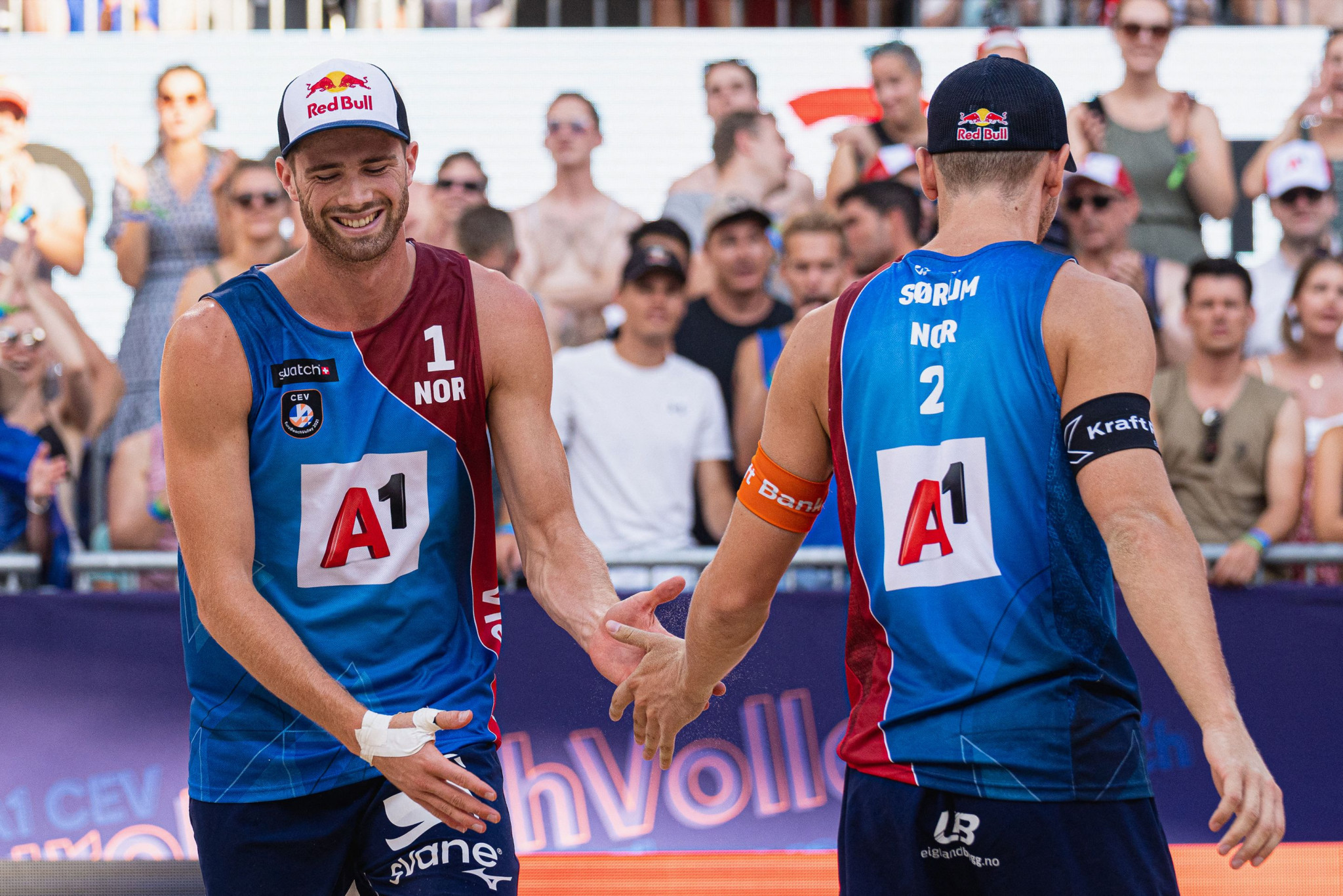 Norway's Olympic champions gun for gold at FIVB Beach Volleyball World Tour Finals