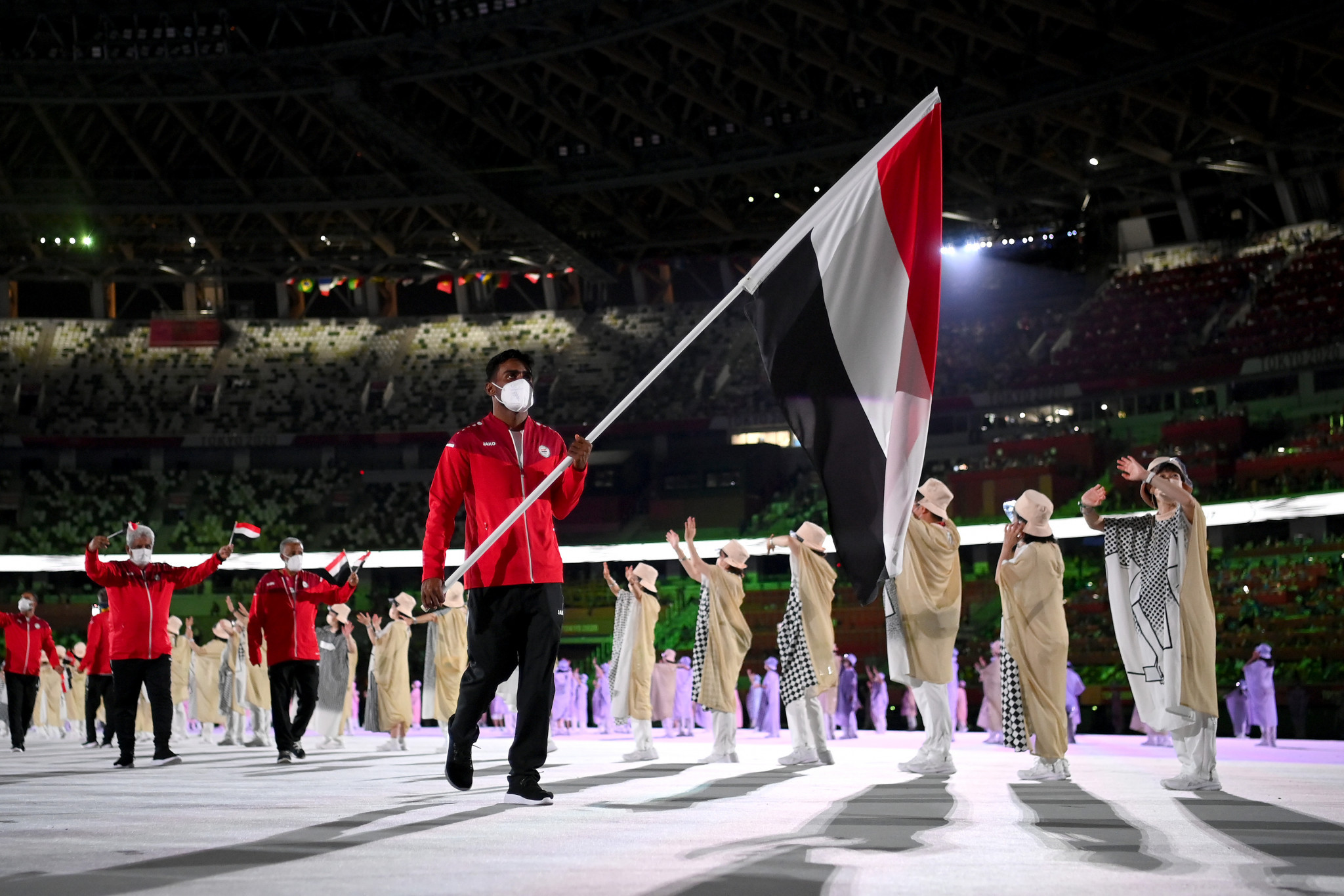 Yemen was represented by five athletes at the Tokyo 2020 Olympic Games ©Getty Images